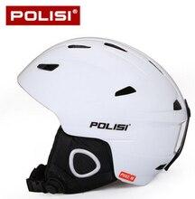 POLISI Professional Men Ski Snow Helmet Ultralight Snowboard Skate Skiing Helmet Capacete Extreme Sport Protective Gear