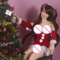 2017 Real Silicone Sex Dolls Tpe Sex Doll 150cm Cheap Best Full Body Realistic Solid With Artificial Metal Skeleton Girls Soft