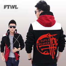 Anime FFF Fukanzenna ketsumatsu Cosplay Jacket Men Fashion Hoodies Sweatshirt Coats