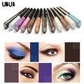 Shimmer ubub marca 10 ml líquido brillo sombra de ojos sombra de ojos duradero resistente al agua pintura línea de delineador de ojos maquillaje multicolor 12 colores