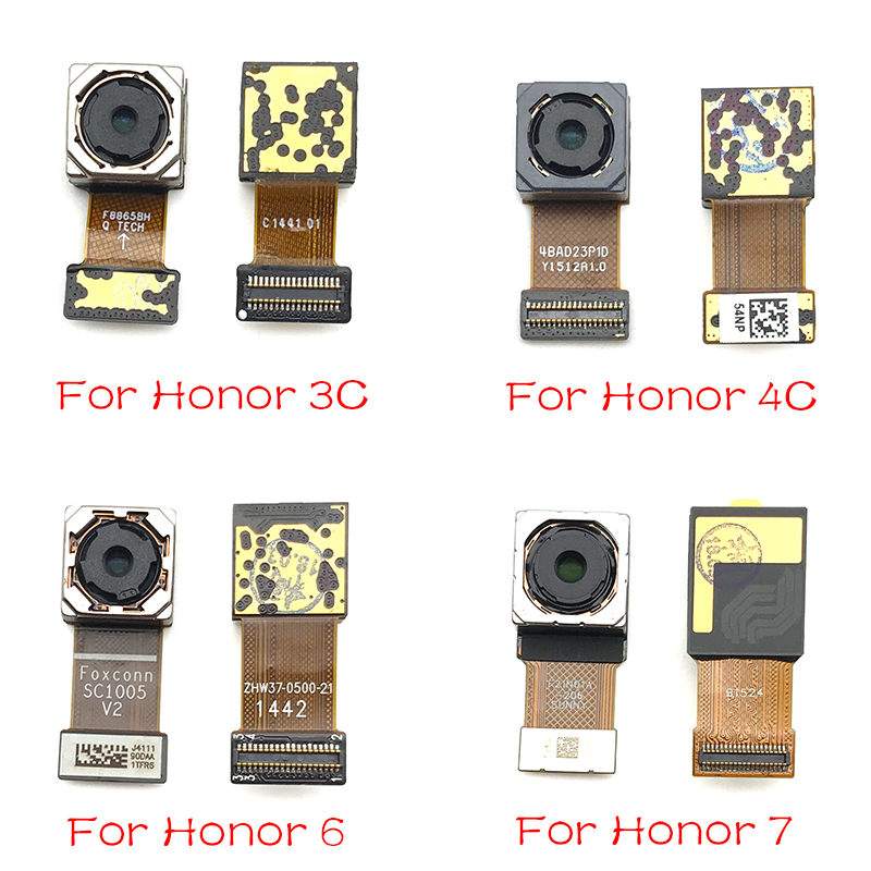 New For Huawei Honor 3C 4C 5X 6x 7X 7A 7C 8X Max 6 7 8 9 10 Lite Rear Camera Foam Back Camera Flex Cable