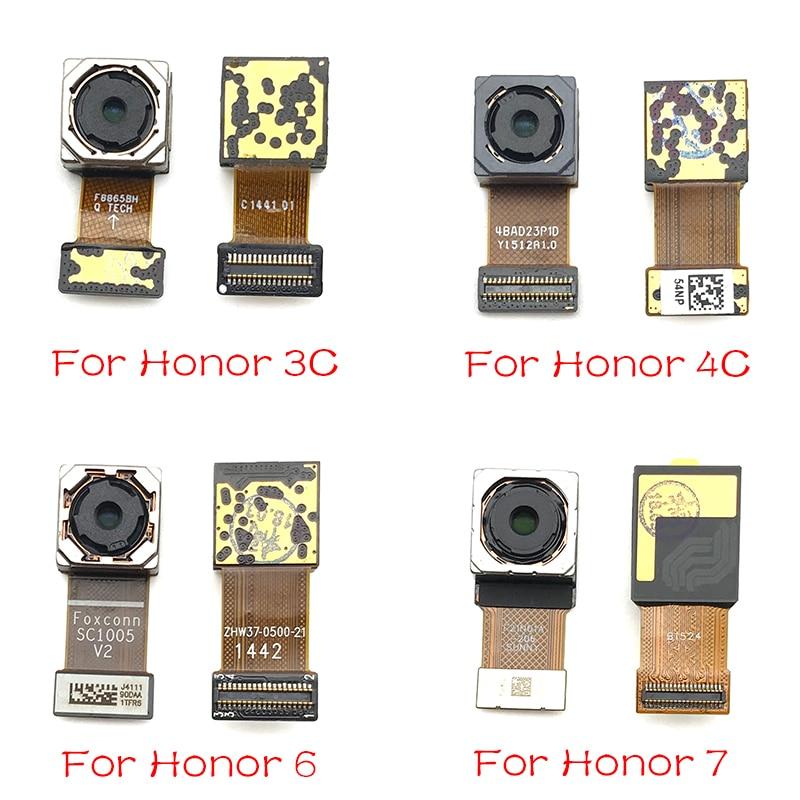 New For Huawei Honor 3C 4C 5X 6x 7X 7A 7C 8X Max 6 7 8 9 10 Lite Rear Camera Foam Back Camera Flex Cable