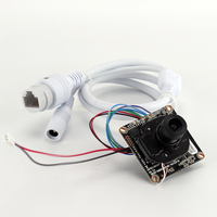 960P / 720P Board IP Camera and cable for IP camera Onvif H.264 Network IP Cam for NVR System support IOS & Android System App