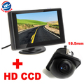 """Auto Parking Assistance System 4.3""""Digital TFT LCD Mirror Car Parking Monitor+170 Degrees mini Car Rear view Camera front camera"""
