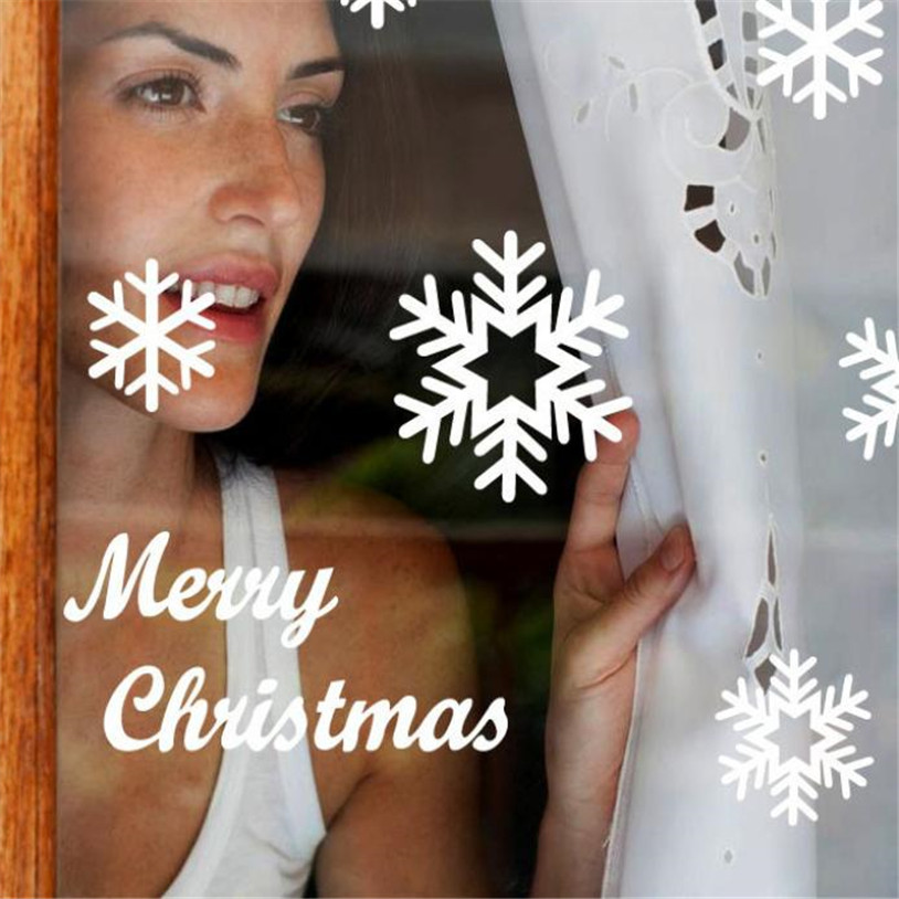 Wall Window Stickers Angel Snowflake Christmas Xmas Vinyl Art Decoration Decals U6927 Angel Bathroom Decor