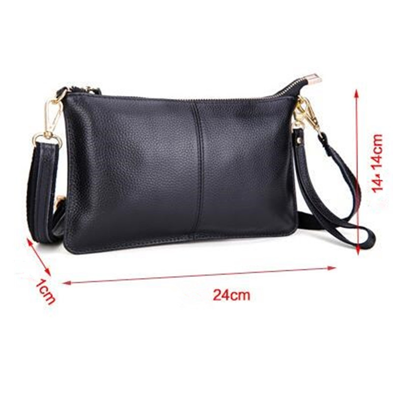 Aliexpress.com   Buy HOTAHOY First Layer Cow Leather Women Messenger Bags  Phone Clutch Bag High Quality Genuine Leather Bag Small Ladies Shoulder Bag  from ... 50a4ad756058