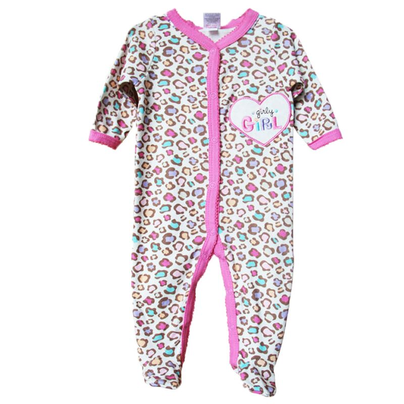 c78e10479 Unisex Baby Clothes Brand Baby Girls Pajamas Romper Long Sleeve Foot ...