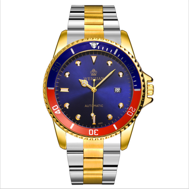 Fashion waterproof business hollowing men's watch fully automatic mechanical watch steel belt quality male watch. the new genuine automatic mechanical male watch belt men s watches male waterproof fashion business leisure watch