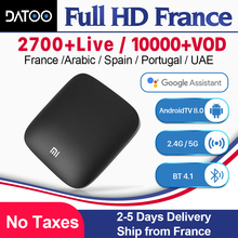 Xiaomi MI Box MI3 France IPTV Arabic Italy Spain Android TV 8.0 Google Certified