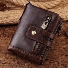 Men's Vintage Style Genuine Leather Wallet