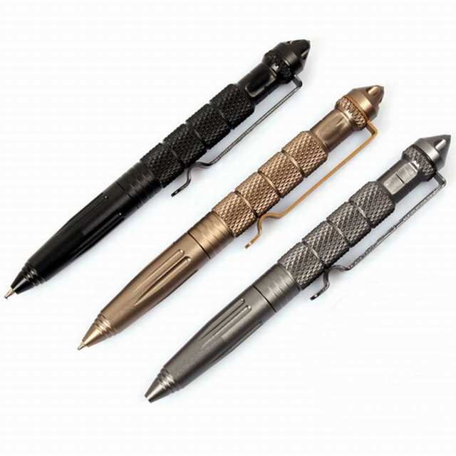 Self Defense ballpoint pen Personal Safety Protective Stinger Weapons tungsten steel Tactical Pen