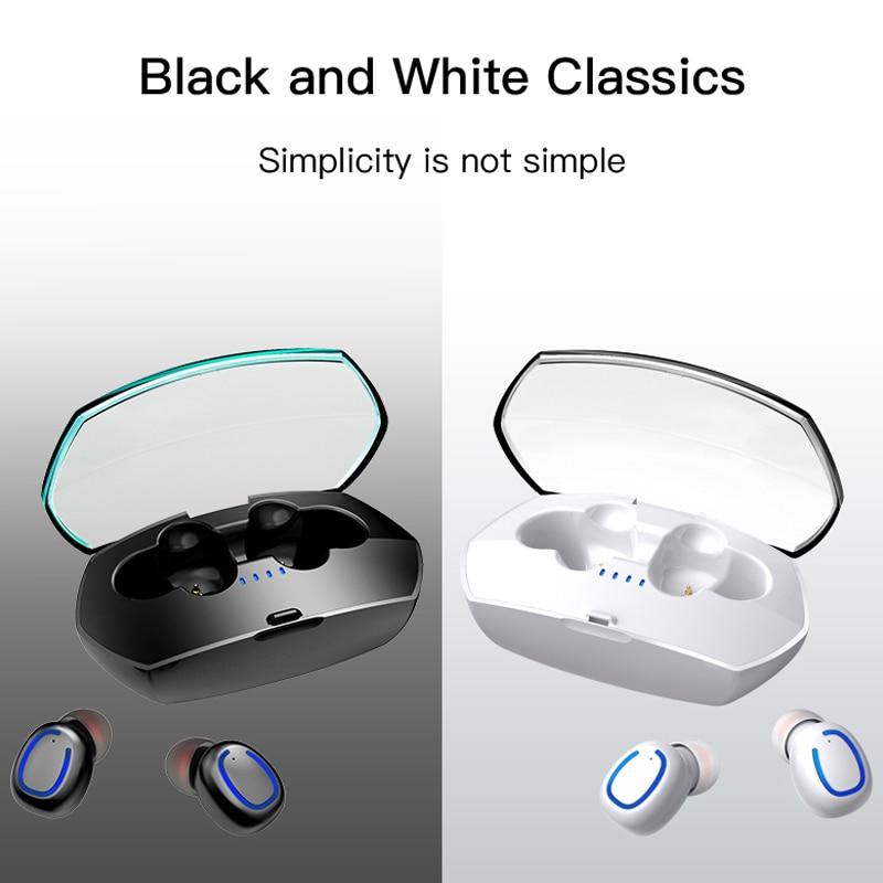 Tws Bluetooth Earphone Wireless Earphones Earbuds Bluetooth Headphone Fones de Ouvido Handsfree Sport Noise Canceling Headphone