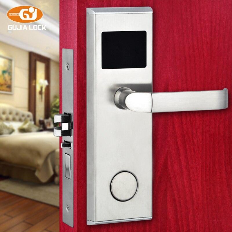 Популярные электронный замок двери с помощью RFID Card 125 кГц 01B ...