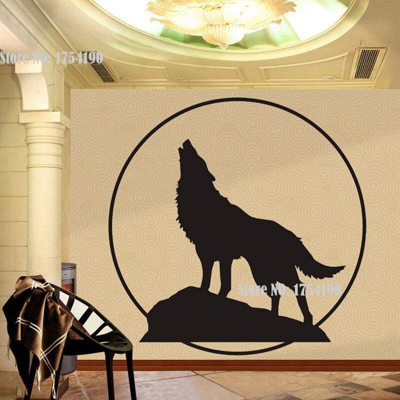 Enchanting Wolf Wall Decor Motif - Art & Wall Decor - hecatalog.info