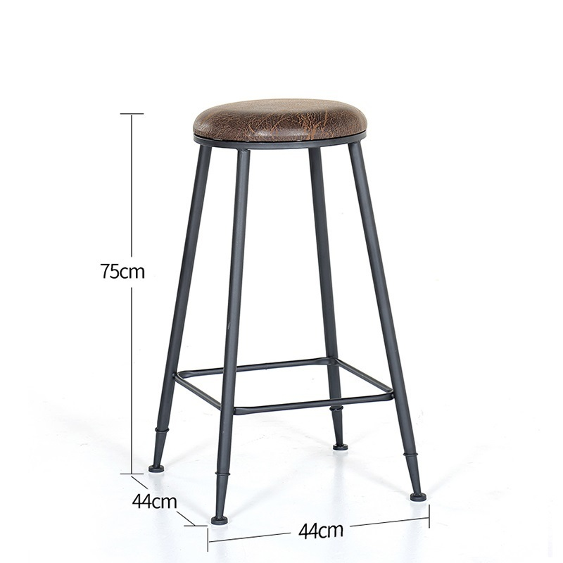 Image 4 - Taburete Fauteuil Sandalyesi Hokery Sedia Banqueta Todos Tipos Shabby Chic Tabouret De Moderne Stool Modern Silla Bar Chair-in Bar Chairs from Furniture