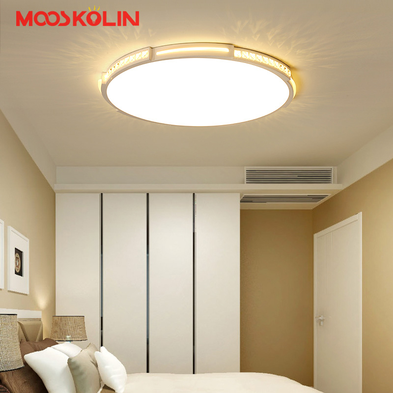 Acrylic Modern LED chandelier fixtures New Arrival plafonnier Simplicity Ultra-thin chandelier lighting For Living room Bedroom modern led chandelier fixtures lighting