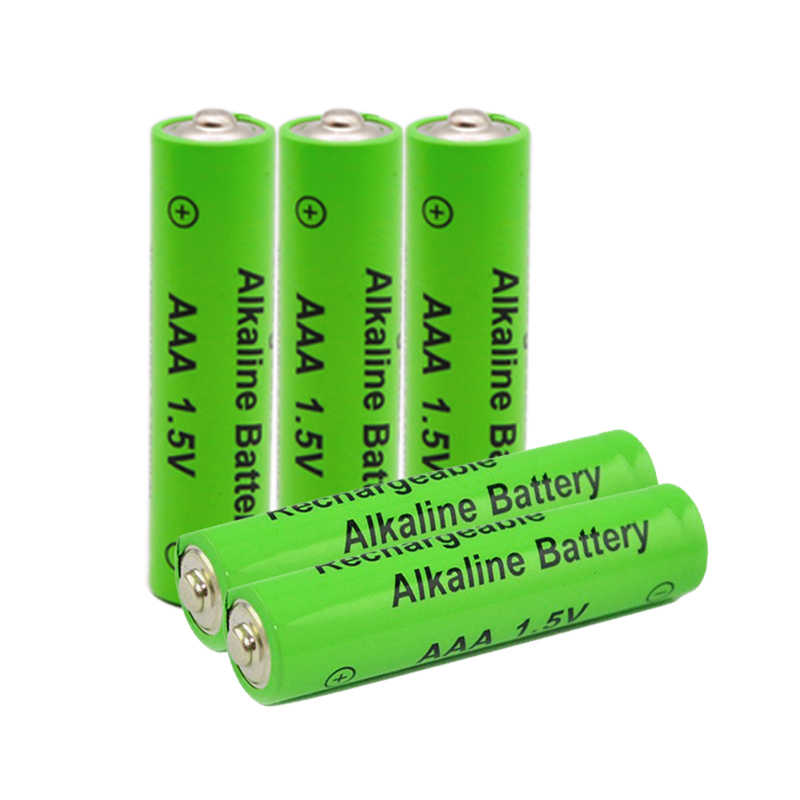 12pcs/lot New Brand AAA Battery 2100mah 1.5V Alkaline AAA rechargeable battery for Remote Control Toy light Batery