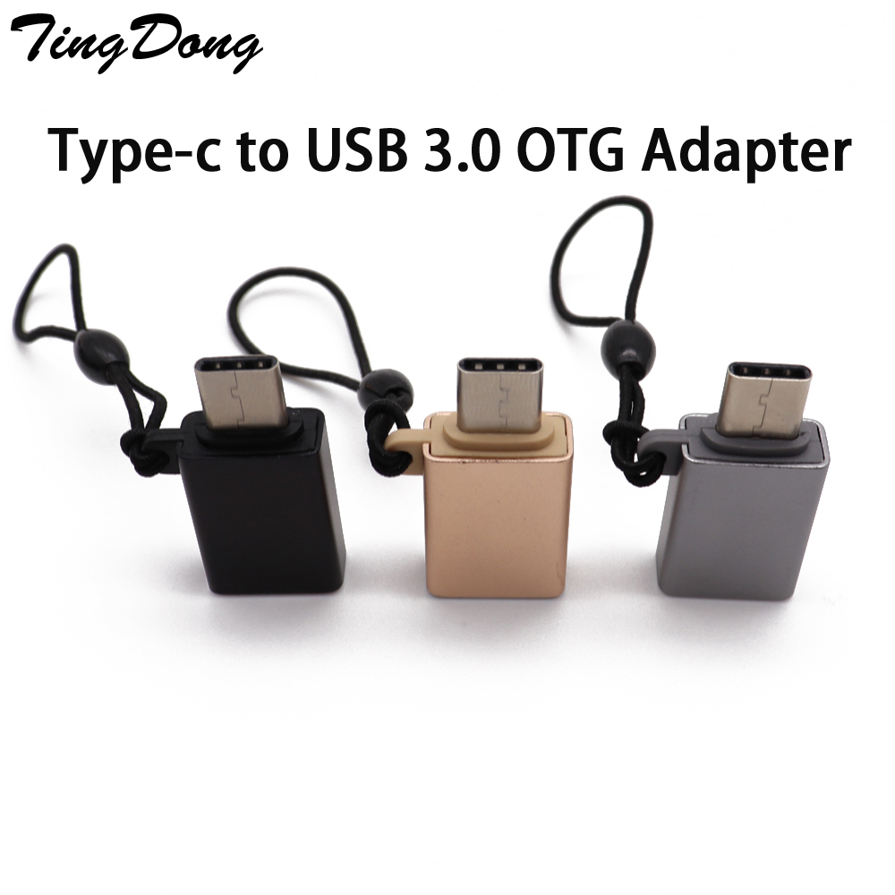 OTG Type-c Usb C Adapter Micro Type C Usb-c 3.1 Usb 3.0 Charge Data Converter For Samsung S8  For Huawei For Sony One Plus Usbc