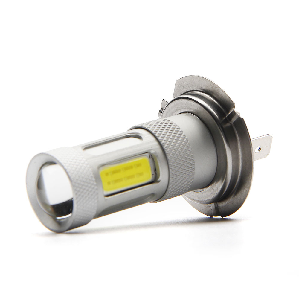 H7 Led Cob Car Fog Lamp Headlight Bulb 48chips Auto Light Bulb Car Light Source Parking 12v 24v