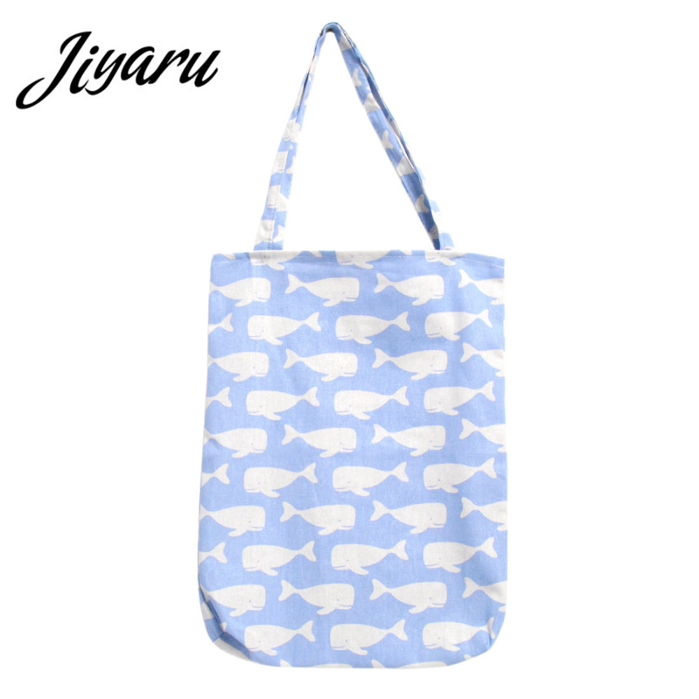 Grocery Shopping Bag Foldable Reusable Shopping Bags Tote Eco Storage Handbag New Style Large Shopping Tote Bag new style cartoon fruit lemon eco bag useful nylon foldable reusable shopping bags