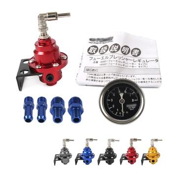 цена на New Universal Adjustable Fuel Pressure Regulator tomei type With original gauge and instructions