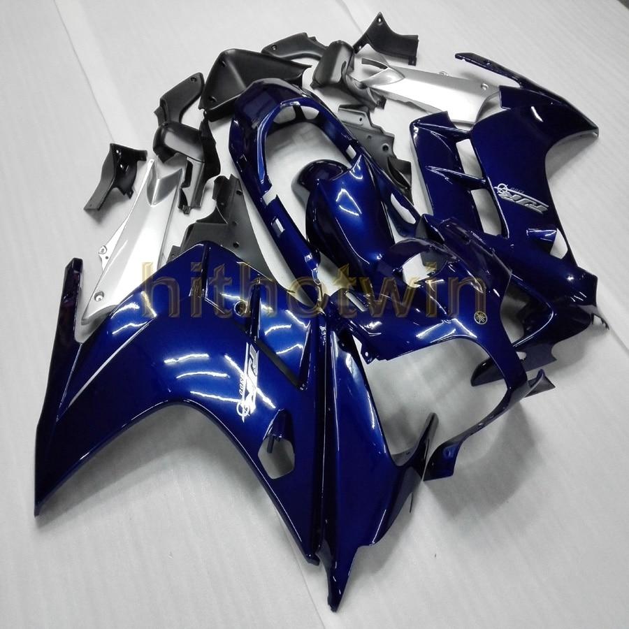 free Bolts custom dark blue motorcycle hull for YAMAHA FJR1300 2002 2003 2004 2005 2006 FJR