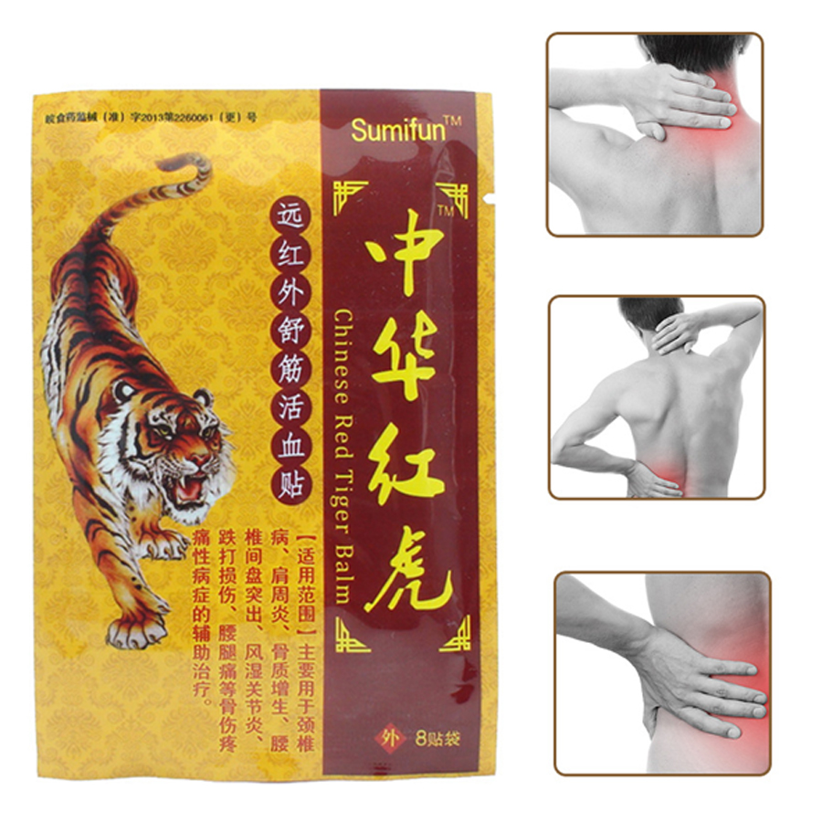 Glorious 80pcs/10 Bags Back Neck Orthopedic Medical Plaster Muscle Aches Strain Sprain Shoulder Knee Pain Relief Patch Body Massager Patches