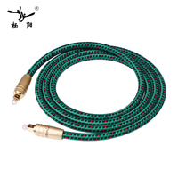 YYAUDIO LITON Hifi Optical Fiber Cables Professional 5.1 for DAC / Digital Interface 1m 1.5m 2m 3m 5m optical fiber cable fiber cableoptical cable -