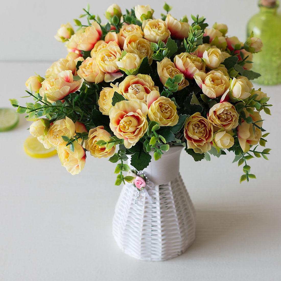 Заказать букет из чайных роз, цветов