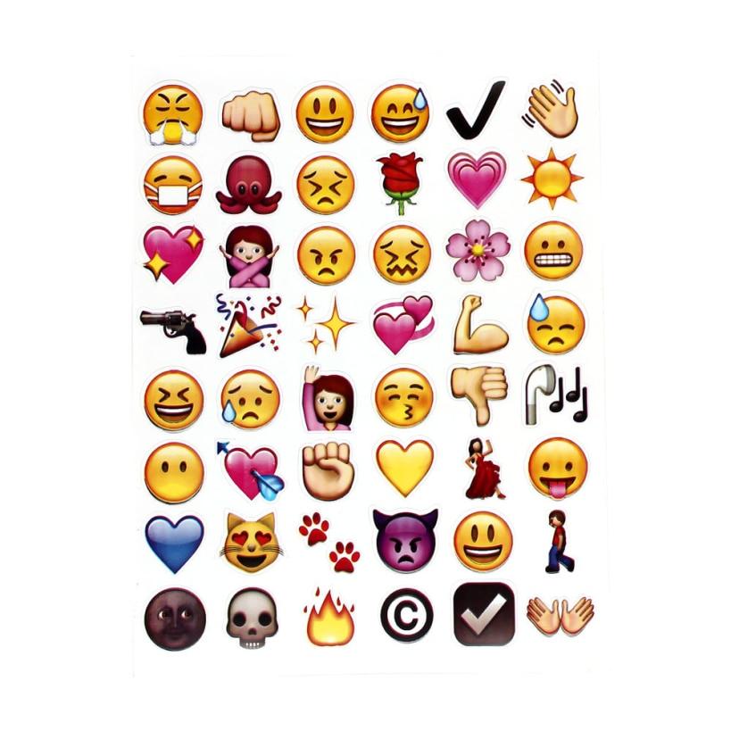 New arrival wholesale 2016 good nice Emoji Stickers Cute Popular