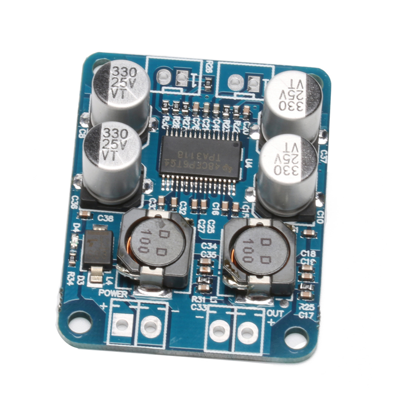 TPA3118 Mono Digital Audio Power Amplifier Board BTL 60W DC 12V-24V Amp Module  цены