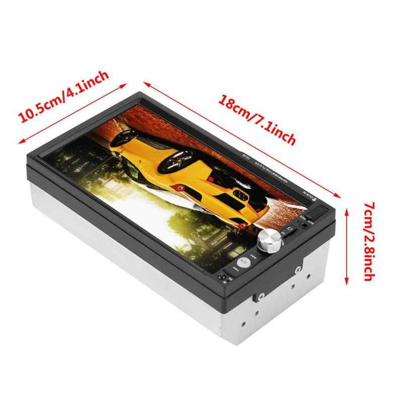 """2din 7023B 車マルチメディアプレーヤー 7 """"タッチスクリーンの自動ラジオ 2din ステレオ autoradio サポートリアビューカメラ mirrorlink アンドロイド"""