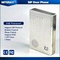 Q504 Niteray SIP Telefone Audio Da Porta Interfone Eletrônico para Sistema de Intercomunicação Áudio
