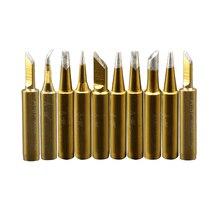 Soldering Iron Tips 900M standard soldering tips 10pcs Solder Welding Tips rework station 936 907 soldering