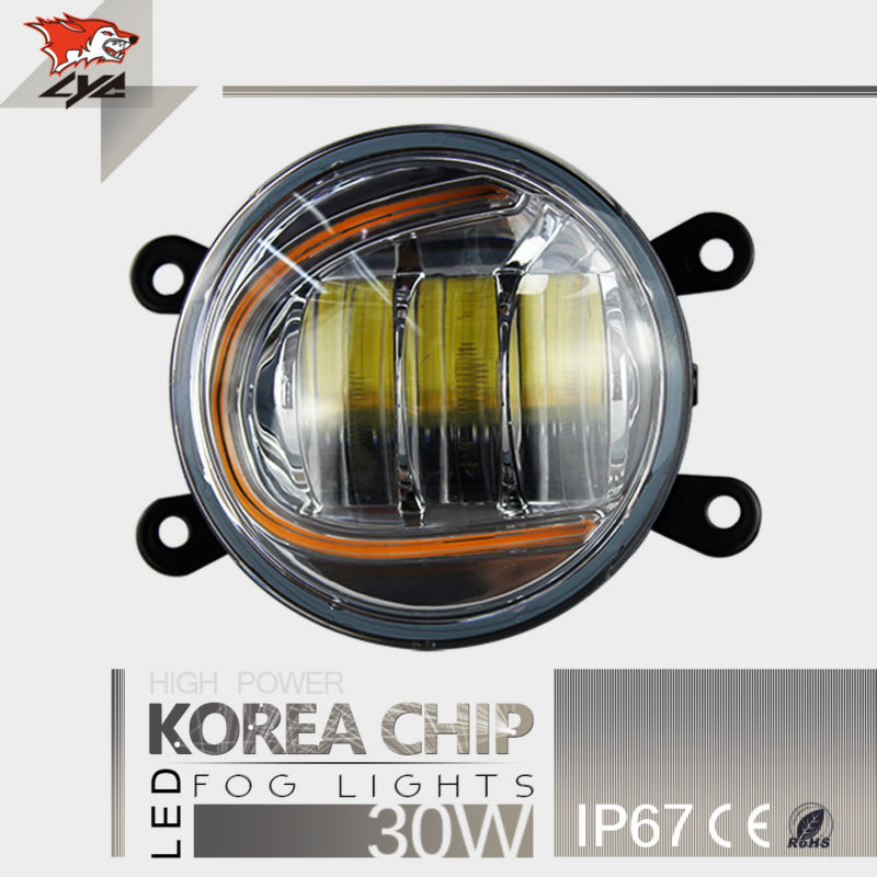 LYC High Power LED Chips IP67 3.5 Inches Fog Lamp DRL For Car Led Fog Light Car fog light Led 3000K/6000K 1800LM For SUV сувенир акм балалайка музыкальная тройка 104 4000 9а