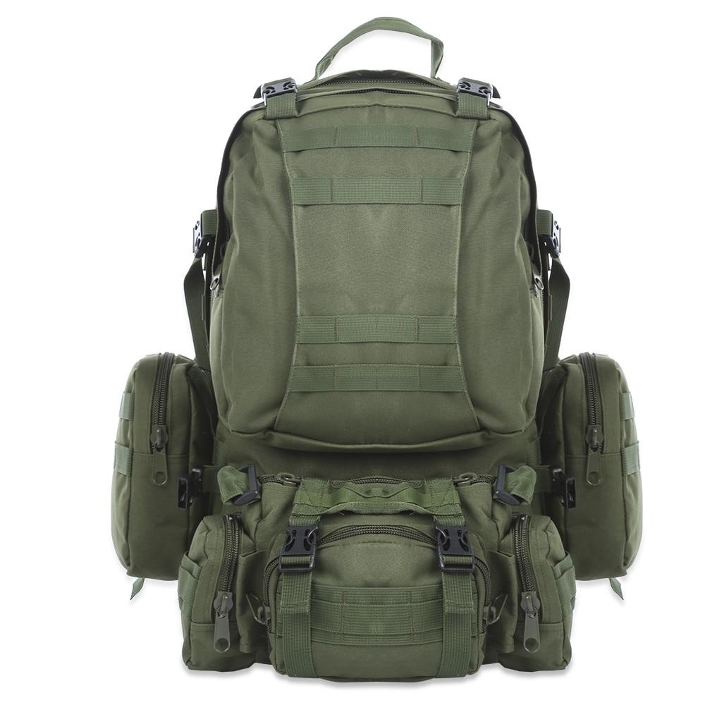 50L Multifunction Sport Bag Molle Tactics