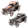 New Classic Iron Bronze Diecast Vintage Car Model Touring Vehicle for Children Toy Delicately Crafted Collection Birthday Gift
