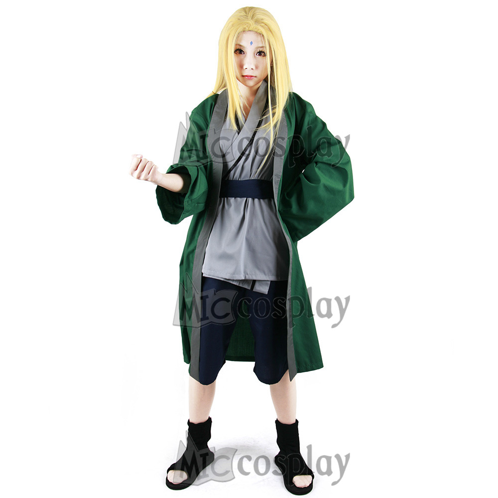 Anime New Hot Naruto Tsunade Cosplay costume Halloween Party Clothing