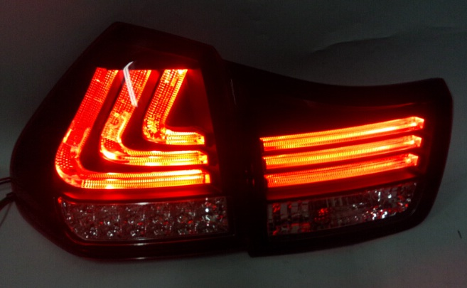 Free shipping for car LED tail lamp for Lexus for RX300 RX330 RX350 Herrier Kluger LED taillight year 2004 to 2009 купить дешево онлайн