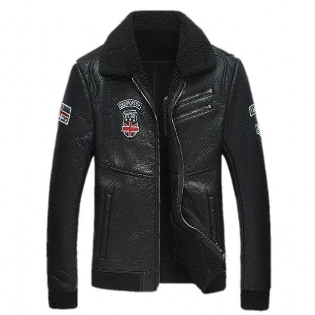 2016 new arrival winter high quality PU wool liner jacket men,casual jacket men,  size L,XL,XXL,XXXL,XXXXL,5XL