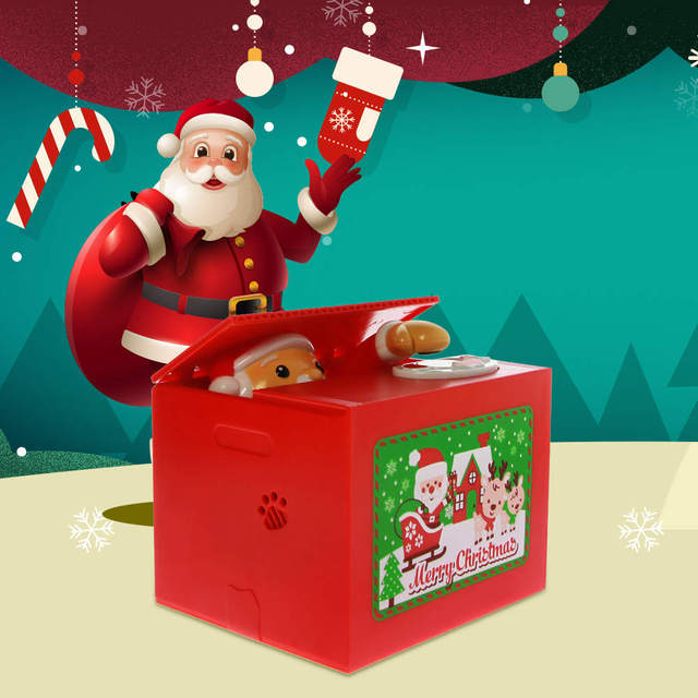 Santa Claus Electronic Piggy Bank