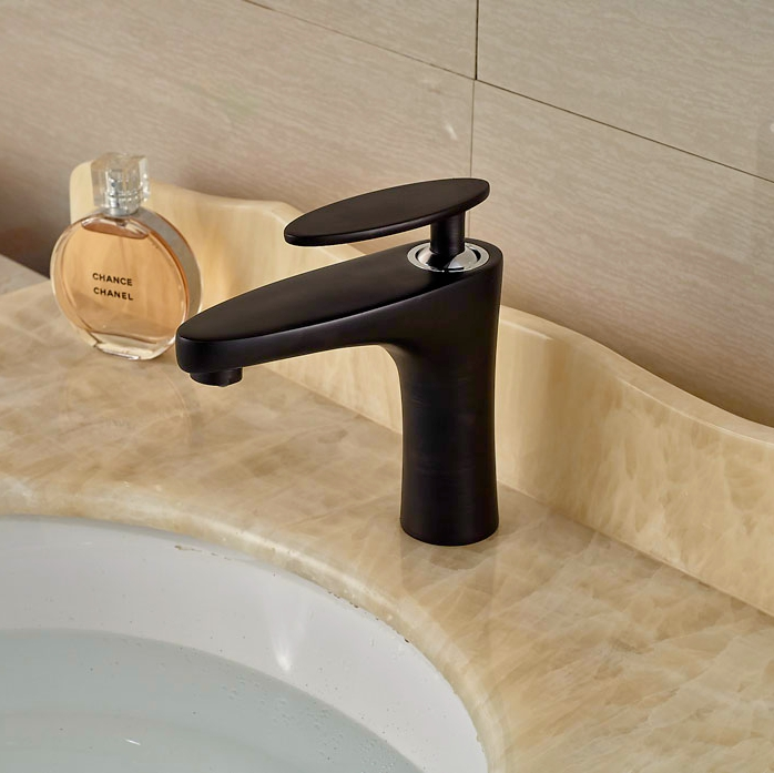 ФОТО Widespread Oil Rubbed Broze Basin Faucet Bathroom Vanity Sink Tap Hot&Cold Tap Waterfall Spout