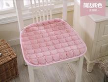 2016 2 unids Extrema moda de alta calidad de la felpa silla de comedor cojín de tela cojín LH729 máquina almohadilla antideslizante lavable envío libre