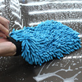 Авто Уход 2 в 1 Ультрадисперсных Волокна Синели Микрофибры Автомойка Перчатка Mitt для Автомобилей Стиральная Машина и Очистки (Anthozoan/Лапша)