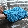 Auto Cuidado de 2 en 1 De Fibra Ultrafina Del Chenille Microfibra Guante Guante de la Arandela Del Coche de Lavado de Coches y Limpieza (Anthozoan/Fideos)