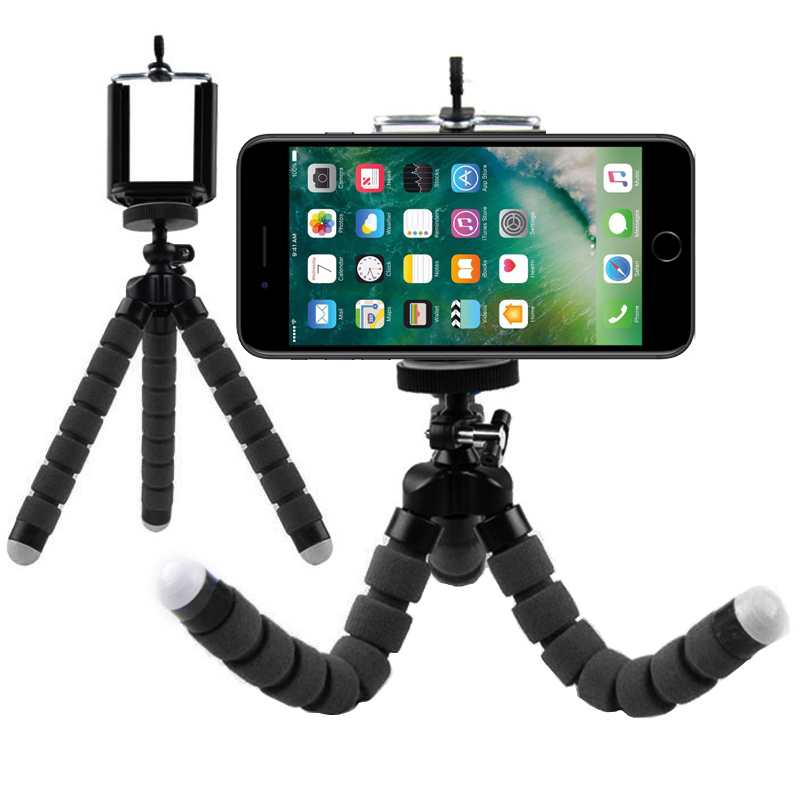 Flexible Octopus Leg Phone Holder Stand Support Mobile Tripod For Htc U11+ U11 Life , U Play 10 M9 M8 Desire 825 A9s A9 S9 E9 X9 Limpid In Sight