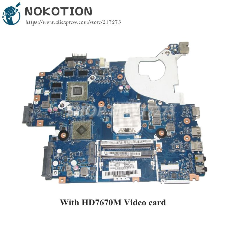 NOKOTION NBC1811001 NB.C1811.001 Q5WV8 LA-8331P Laptop Motherboard For Acer aspire V3-551 V3-551g Main Board HD7670M Video card
