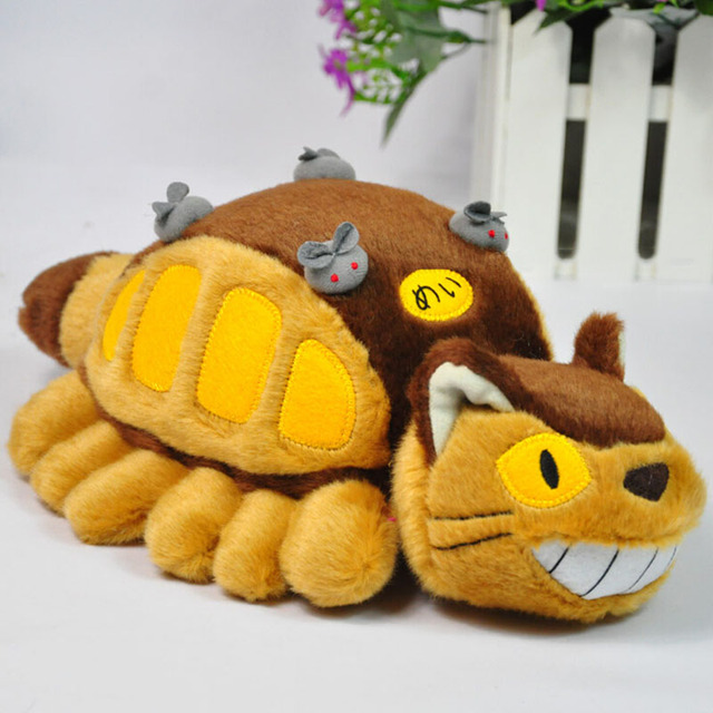 30cm Cute Catbus Totoro Plush Toy Soft Doll Girl Gift Kids