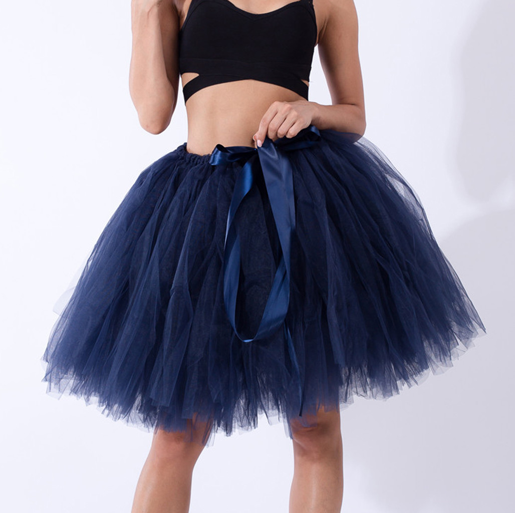 Women Adult Dancewear Tutu Pettiskirt Princess Party Skirts Mini Dance Summer Short Skirts Space Candy-colored Tutu Skirts Z704