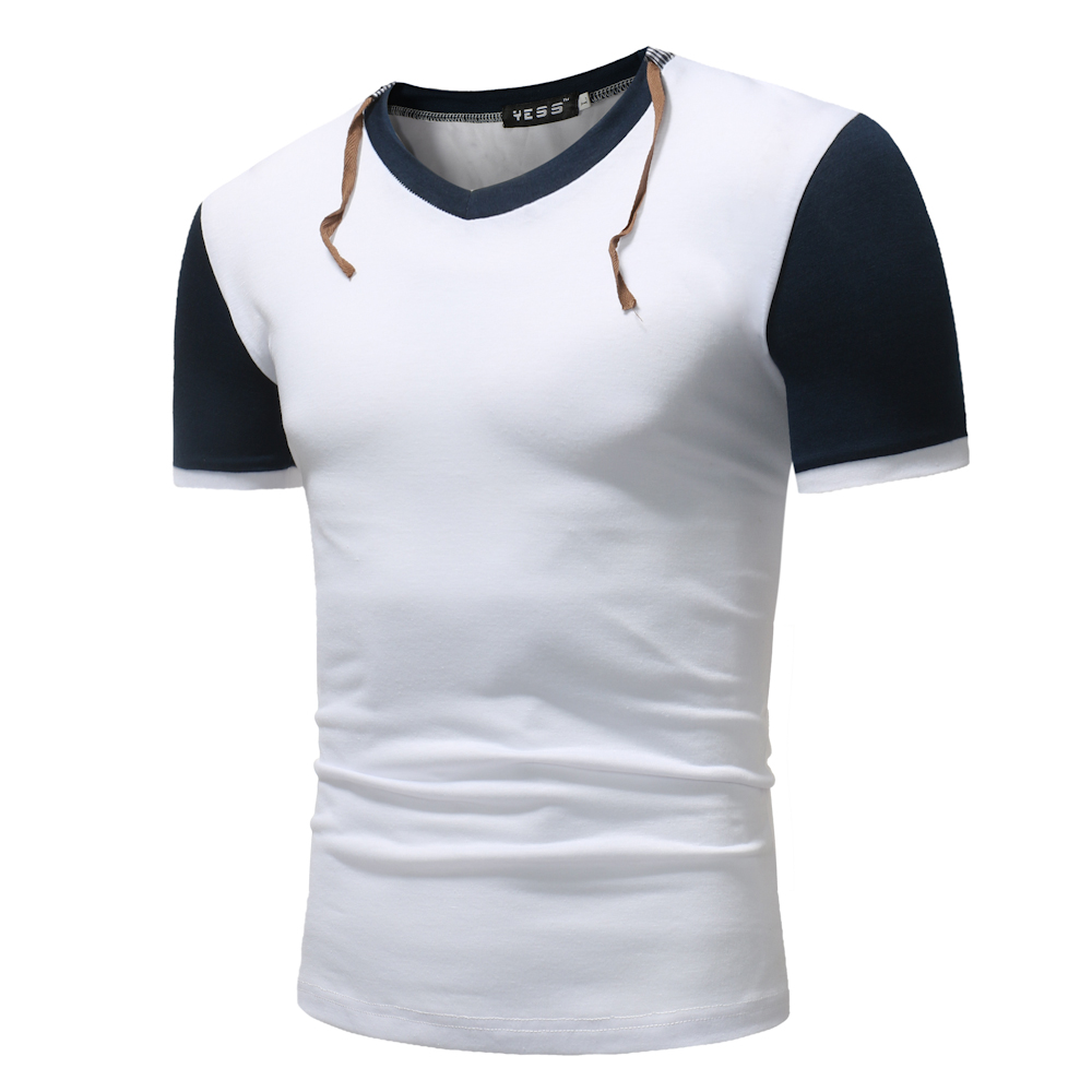 Phertiful 2018 New Fashion Brand Men Clothes Solid Short Sleeve Slim Fit T shirt Men Cotton T-shirt Casual T-shirts 5XL M006